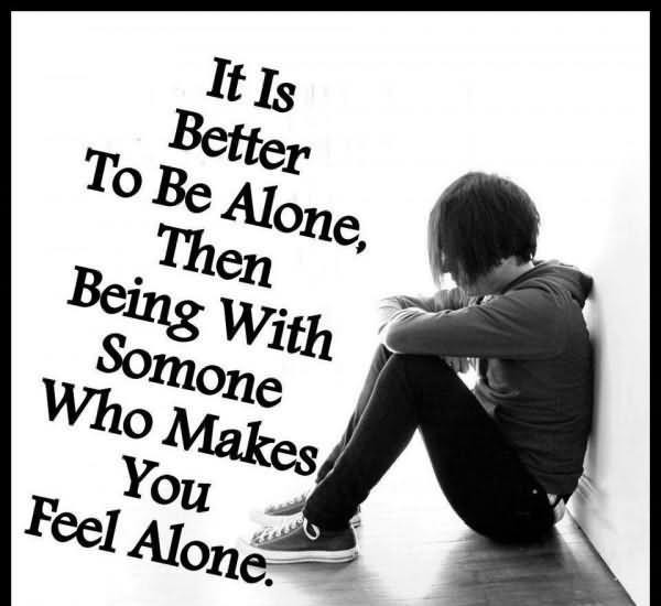 Alone Quotes Sad  50 Best Alone Quotes