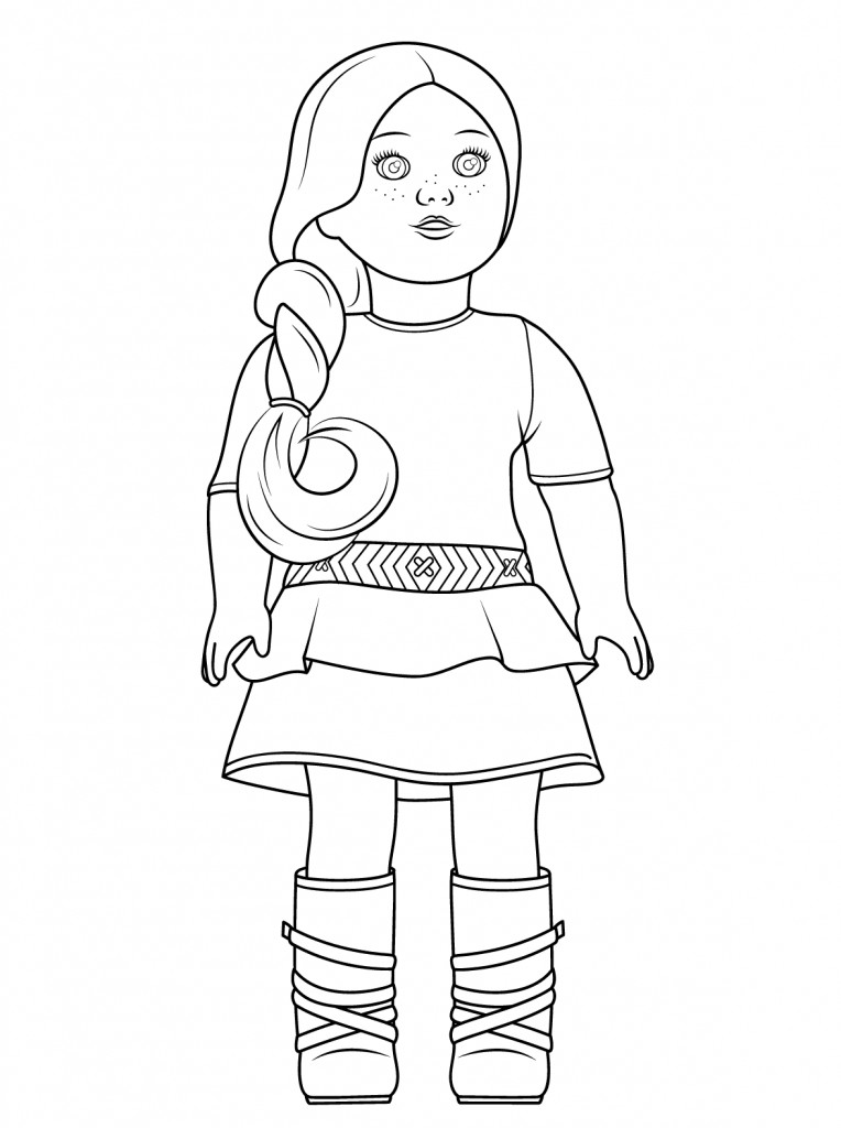 American Girl Coloring Pages Rebecca  American Girl Coloring Pages Best Coloring Pages For Kids