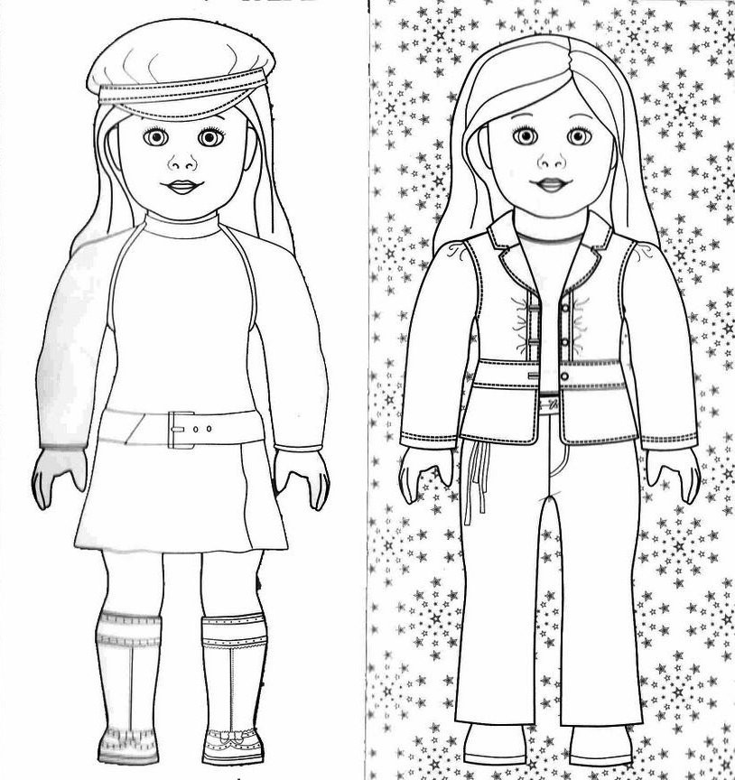 American Girl Coloring Pages Rebecca  american girl coloring pages