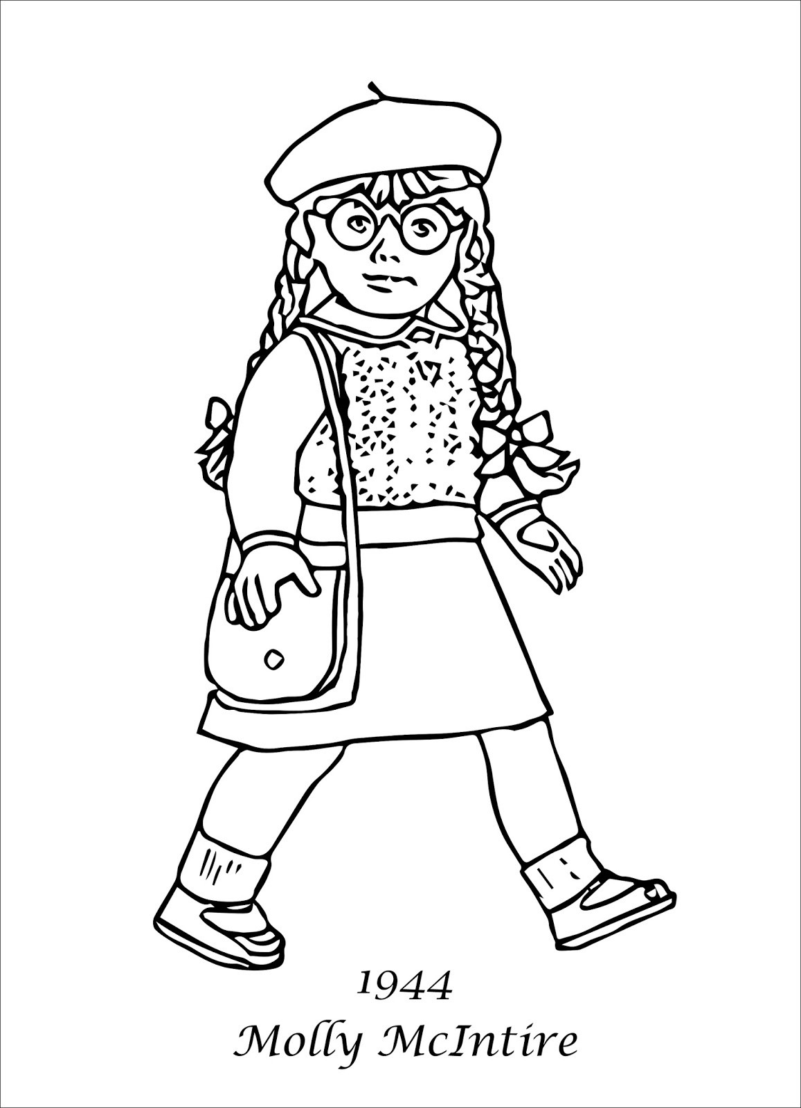 American Girl Coloring Pages Rebecca  My Cup Overflows April 2018