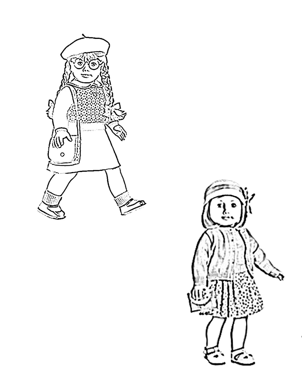 American Girl Coloring Pages Rebecca  My Cup Overflows Kit Kittredge An American Girl