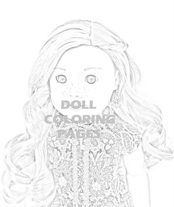 American Girl Coloring Pages Rebecca  American Girl Doll Coloring Pages Tenney Grant Adult