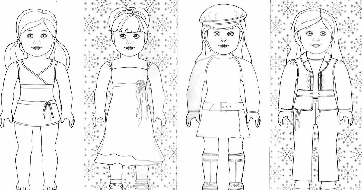 American Girl Coloring Pages Rebecca  Bonggamom Finds And More American Girl coloring pages