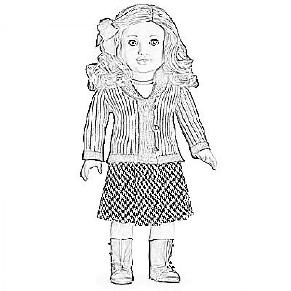 American Girl Coloring Pages Rebecca  Get This Printable American Girl Coloring Pages line