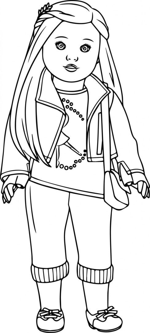 American Girl Coloring Pages Rebecca  Pin on Colorings