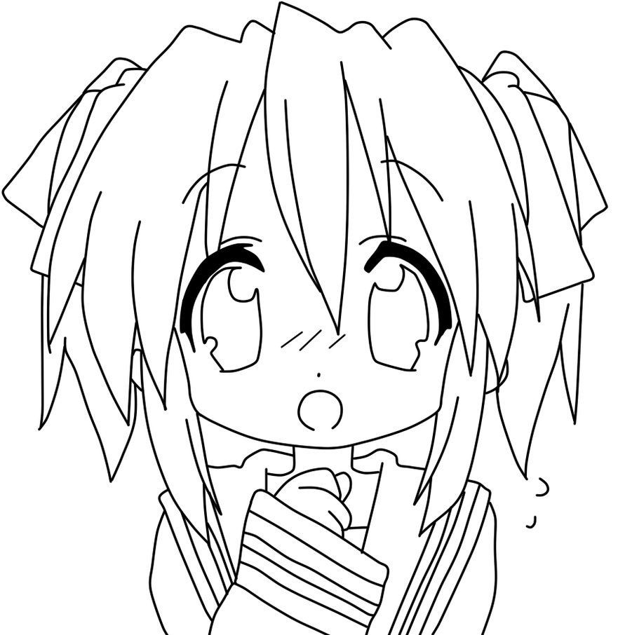 Anime Boys Coloring Pages Easy  anime coloring page Google Search
