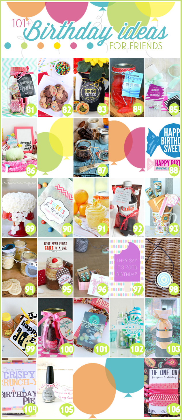 Anniversary Gift Ideas For Friends  Free Printable Birthday Tags