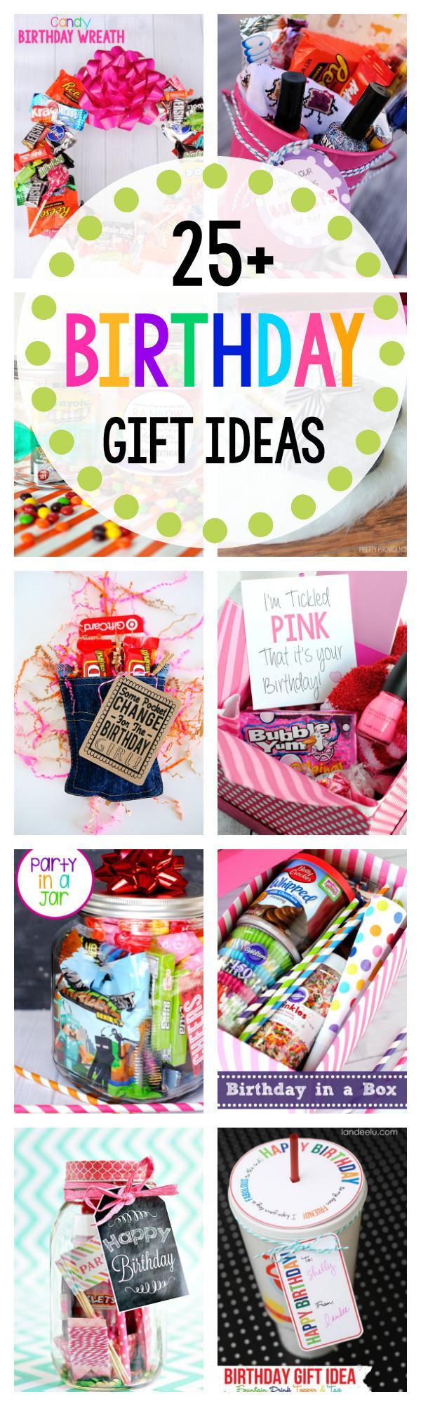 Anniversary Gift Ideas For Friends  Fun Birthday Gift Ideas for Friends Crazy Little Projects
