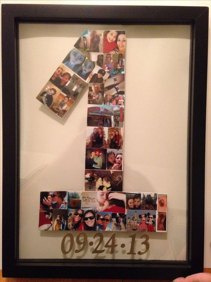 Anniversary Gift Ideas For Girlfriend  25 best ideas about e year anniversary on Pinterest