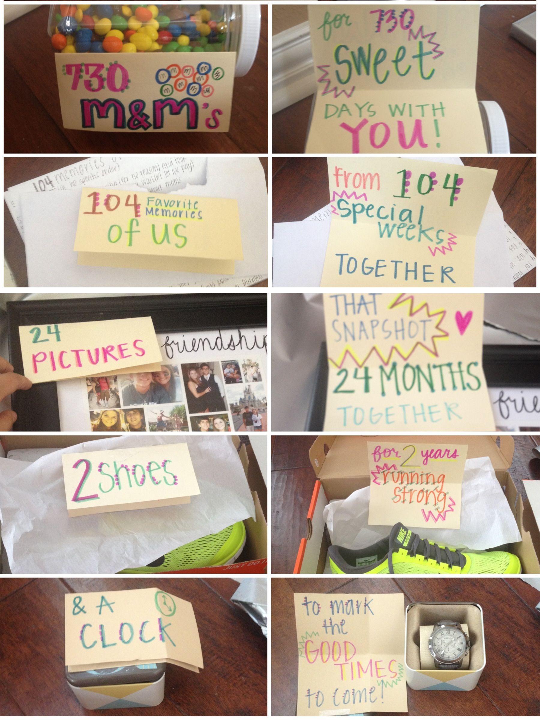 Anniversary Gift Ideas  2 year anniversary t for him tsforhim anniversary