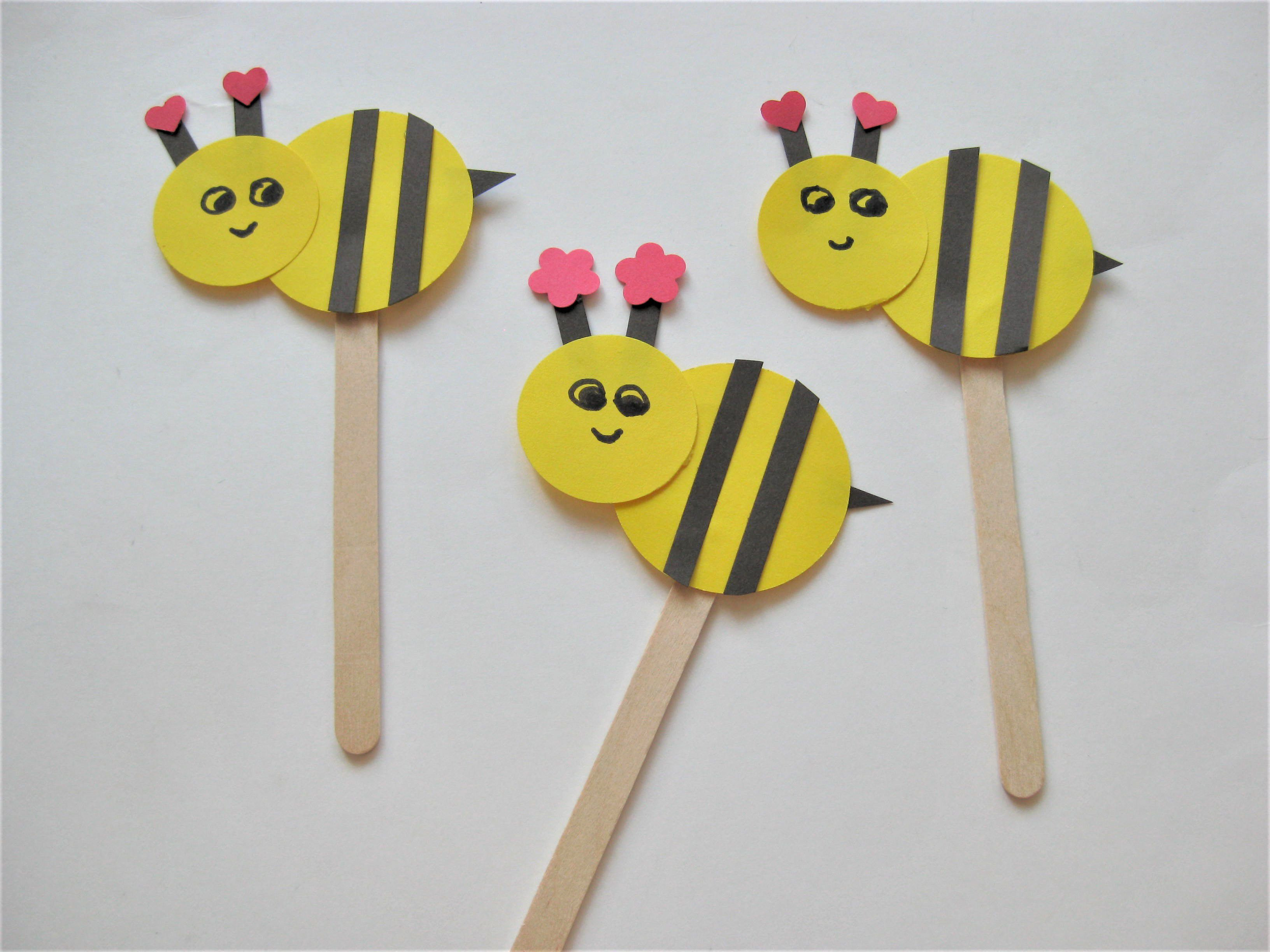 Art And Craft For Kids  Bee Craft for Kids