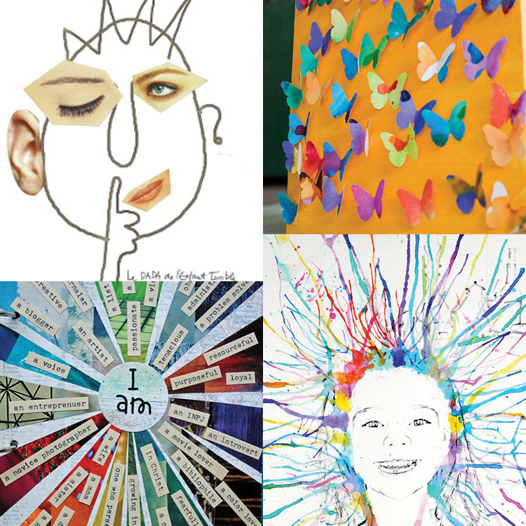 Art And Craft For Kids  Art Not Crafts For Kids Andrea s Notebook