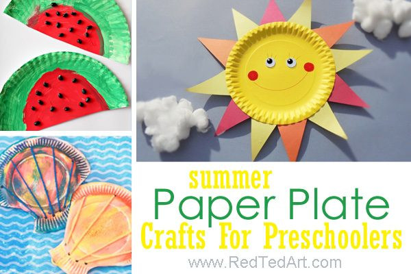 Art And Craft For Preschool  47 Summer Crafts for Preschoolers to Make this Summer