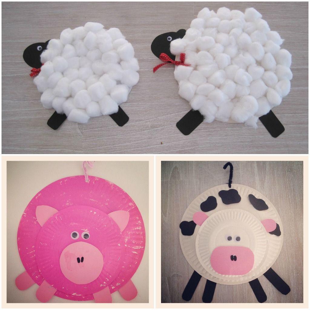 Art And Craft For Preschool  preschool farm animal art