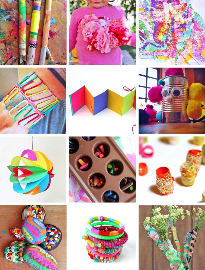 Art And Craft Ideas For Kids  80 Easy Creative Projects for Kids Babble Dabble Do