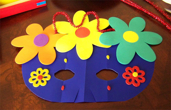 Art And Craft Ideas For Kids  Kids Craft Projects Paper Masks
