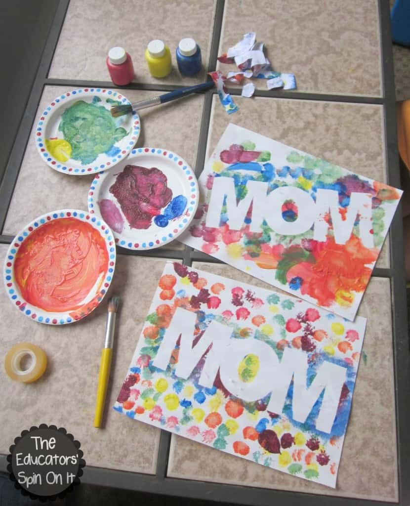 Arts And Crafts Mothers Day Gift Ideas  DIY Easy Colorful Mother s Day Gift DIY Crafts Mom