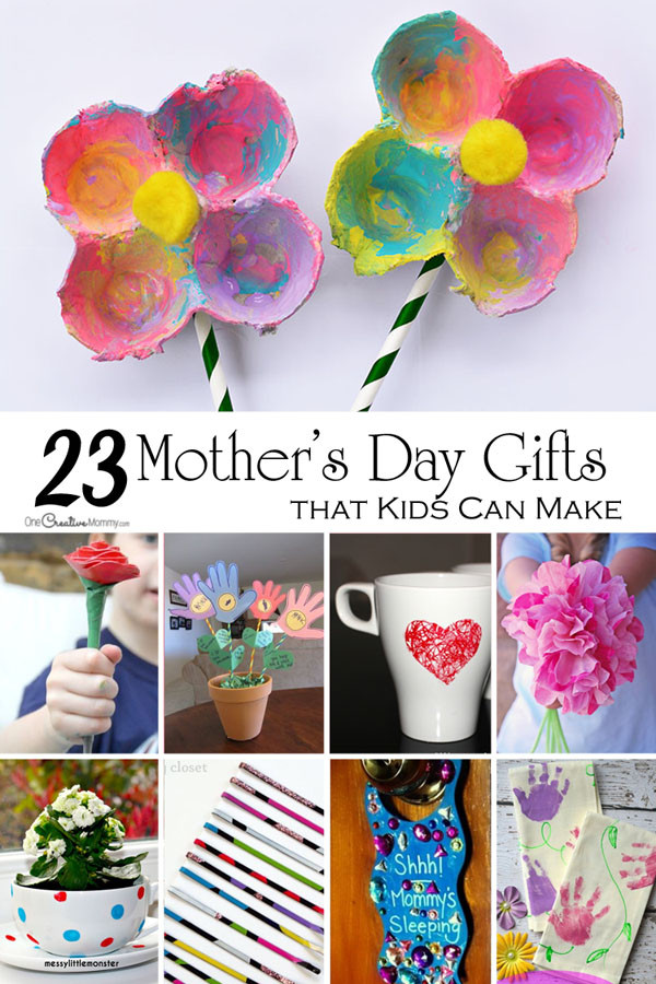 Arts And Crafts Mothers Day Gift Ideas  Mother s Day Crafts for Kids onecreativemommy