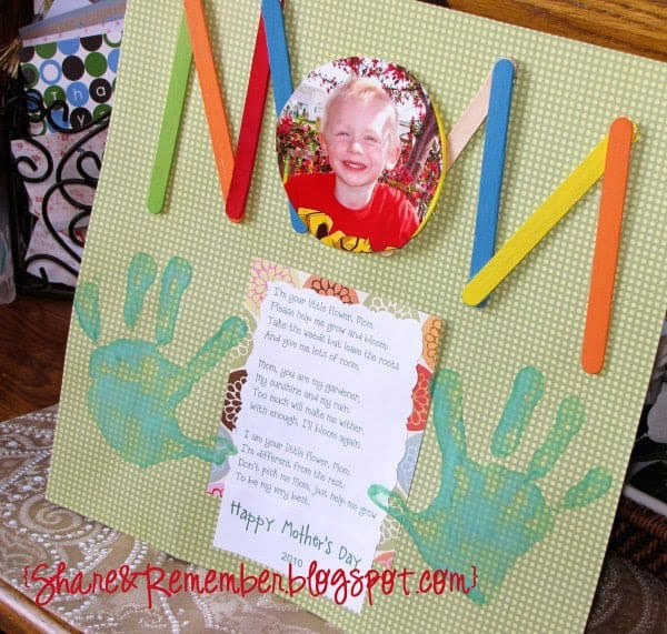 Arts And Crafts Mothers Day Gift Ideas  Mother s Day Projects for preschoolers