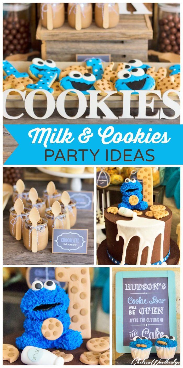 "Baby Boys 1St Birthday Gift Ideas  MIlk and Cookies Birthday ""Hudson s Milk and Cookie"