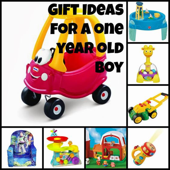Baby Boys 1St Birthday Gift Ideas  e Year Old Boy Gift Ideas