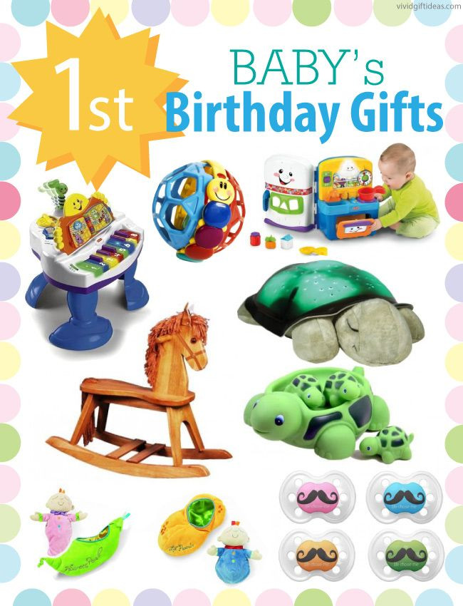 Baby Boys 1St Birthday Gift Ideas  1st Birthday Gift Ideas For Boys and Girls