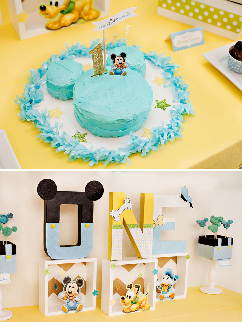 Baby Boys 1St Birthday Gift Ideas  Creative Mickey Mouse 1st Birthday Party Ideas Free