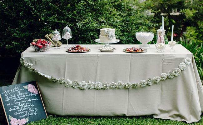 Backyard 21St Birthday Party Ideas  Vintage Chic 21st Birthday Party Celebration Pretty My