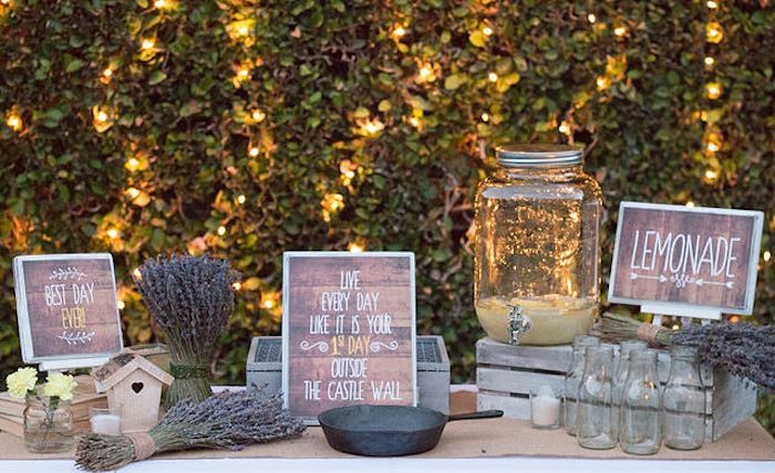 Backyard 21St Birthday Party Ideas  Sweetly Feature 21st Garden Birthday Party