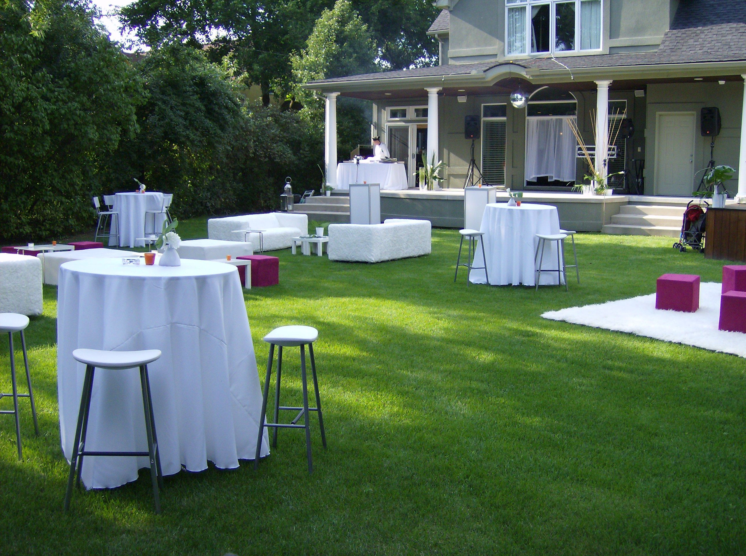 Backyard 40Th Birthday Party Ideas  Backyard Cocktail Party