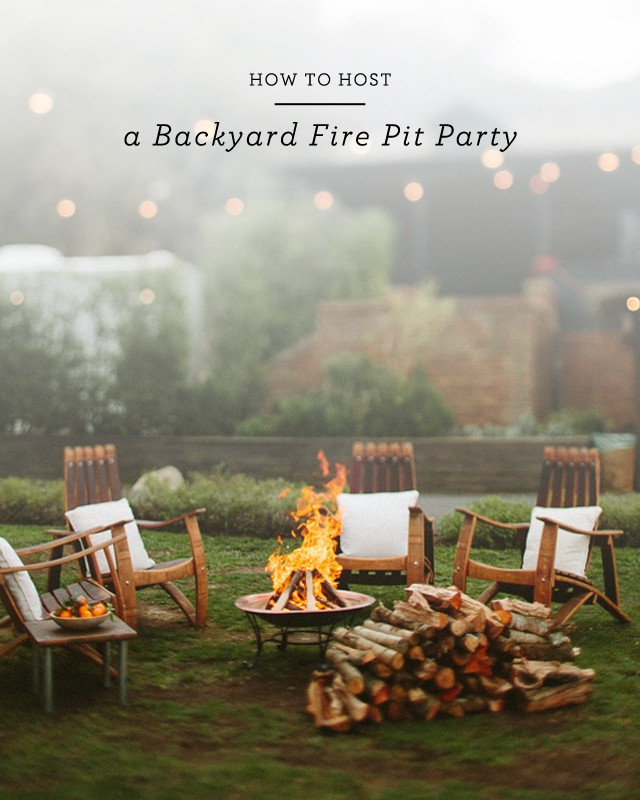 Backyard Fire Pit Party Ideas  How to Host a Backyard Fire Pit Party