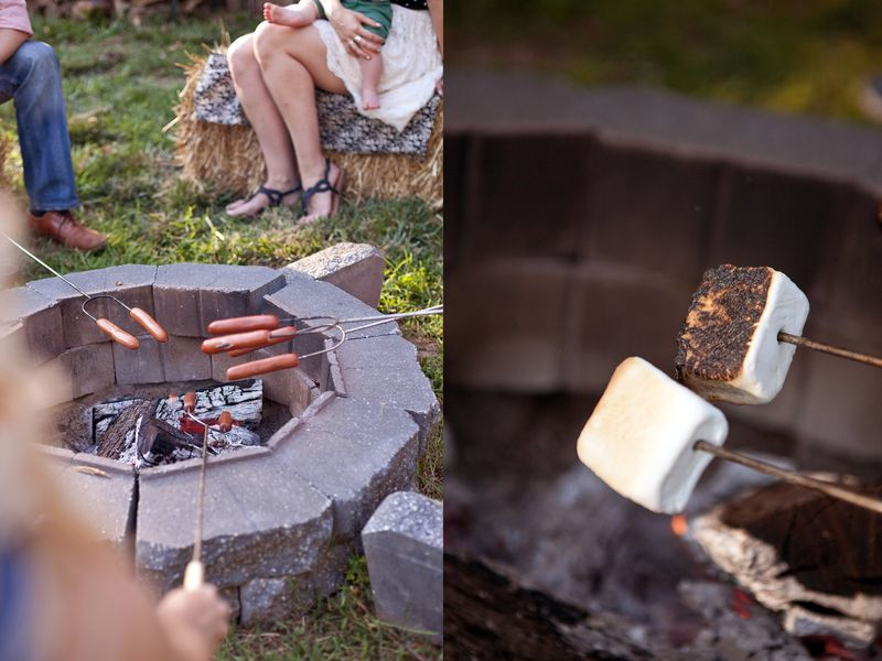 Backyard Fire Pit Party Ideas  A Casual Fire Pit Party – A Beautiful Mess