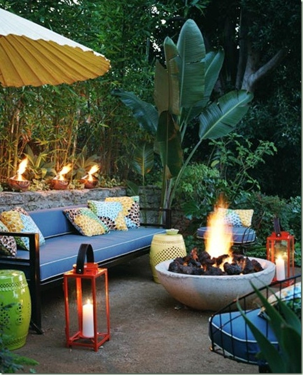 Backyard Fire Pit Party Ideas  Lime In The Coconut Planning a Midsummer night's Eve
