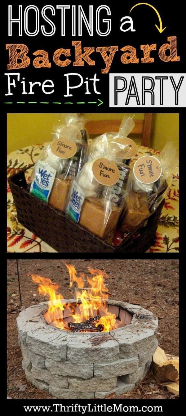 Backyard Fire Pit Party Ideas  Hosting a Backyard Fire Pit Party – Party Ideas