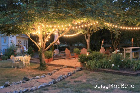 Backyard Fire Pit Party Ideas  Charming Home Tour Daisy Mae Belle Town & Country Living