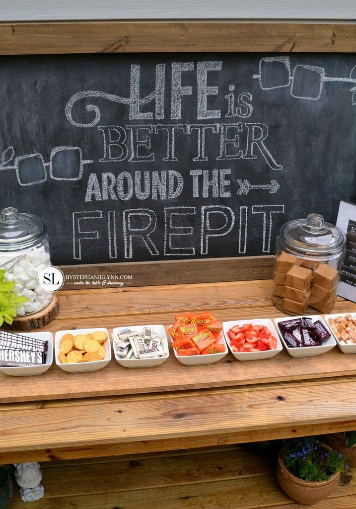 Backyard Fire Pit Party Ideas  17 Best ideas about Backyard Bonfire Party on Pinterest
