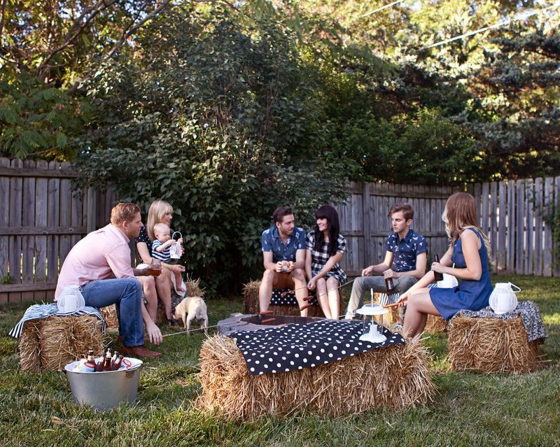 Backyard Fire Pit Party Ideas  A Casual Fire Pit Party the future Mrs M