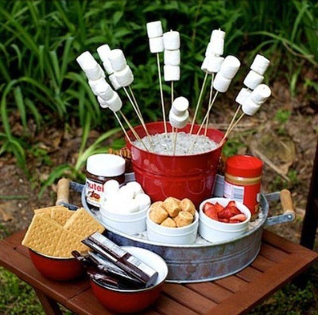 Backyard Fire Pit Party Ideas  Best 25 Fire pit food ideas on Pinterest