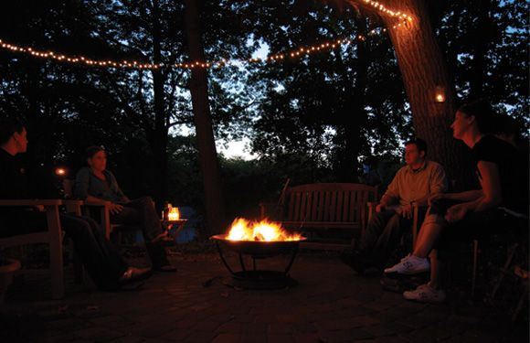 Backyard Fire Pit Party Ideas  Fall Flavors Party