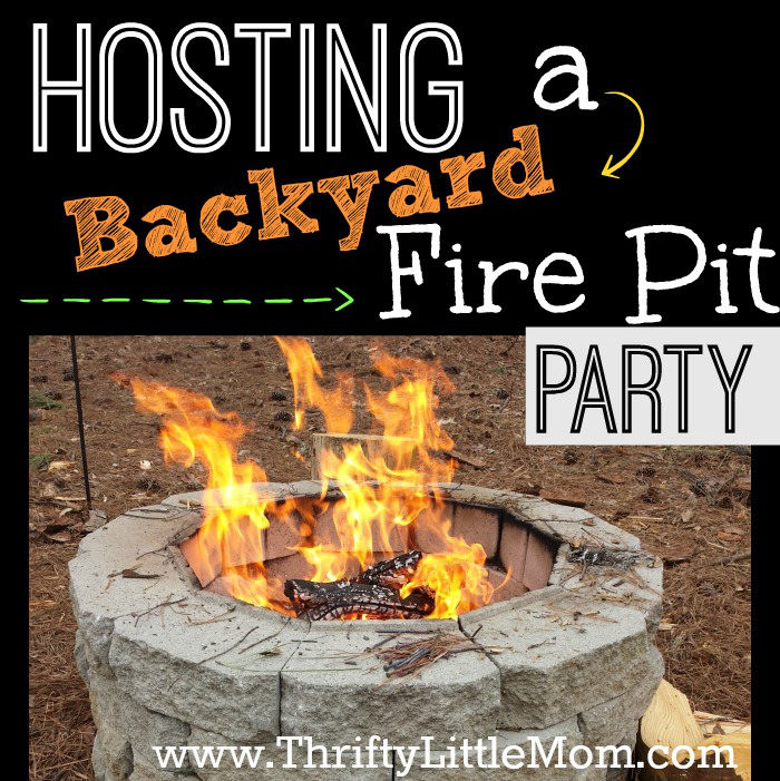 Backyard Fire Pit Party Ideas  Tips for Hosting a Backyard Fire Pit Party Thrifty