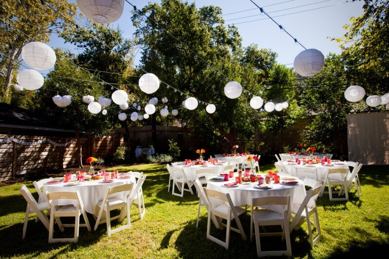 Backyard Party Set Up Ideas  Don't Plan a Backyard Wedding Without These Top 7 tips