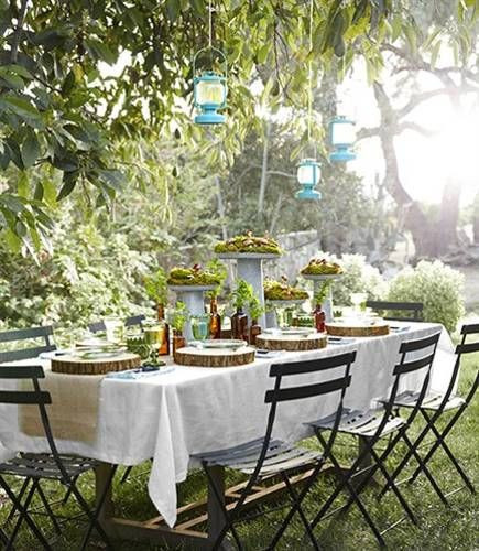 Backyard Party Set Up Ideas  12 Simple Tips for Summer Party Table Setting and Outdoor