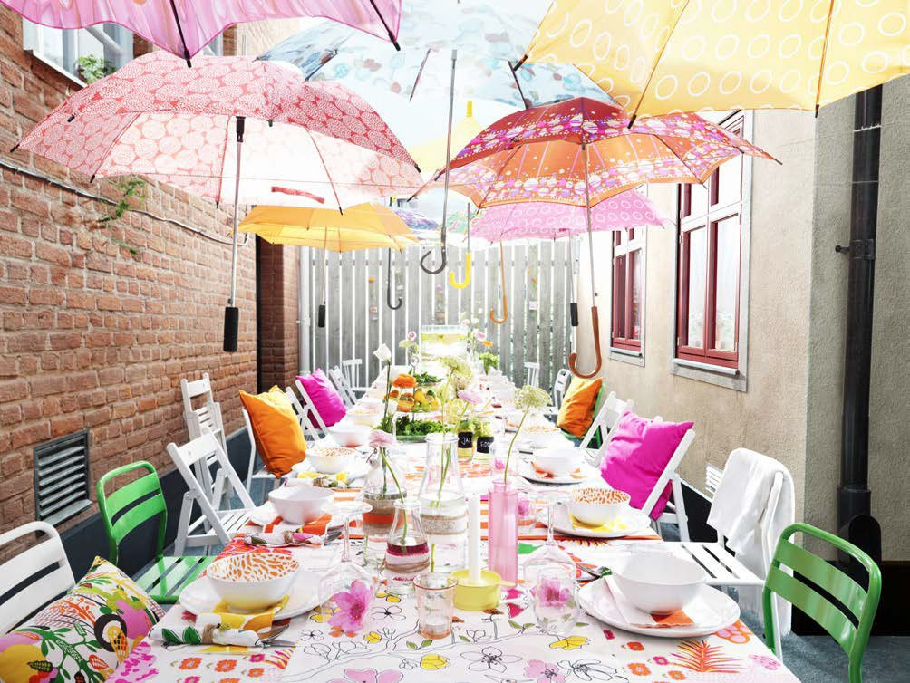 Backyard Summer Party Decorating Ideas  10 Ideas for Outdoor Parties from IKEA Skimbaco