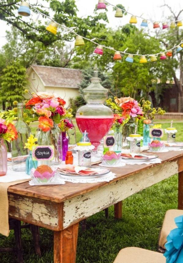 Backyard Summer Party Decorating Ideas  40 Garden Ideas for Your Summer Party Decoration