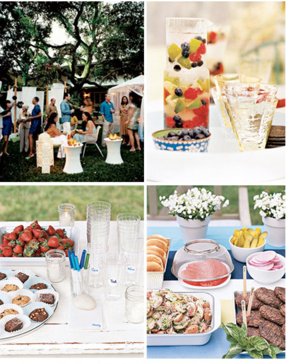 Backyard Summer Party Decorating Ideas  Real Simple Backyard Party Ideas At Home with Kim Vallee
