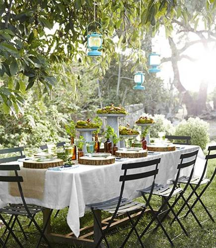 Backyard Summer Party Decorating Ideas  12 Simple Tips for Summer Party Table Setting and Outdoor