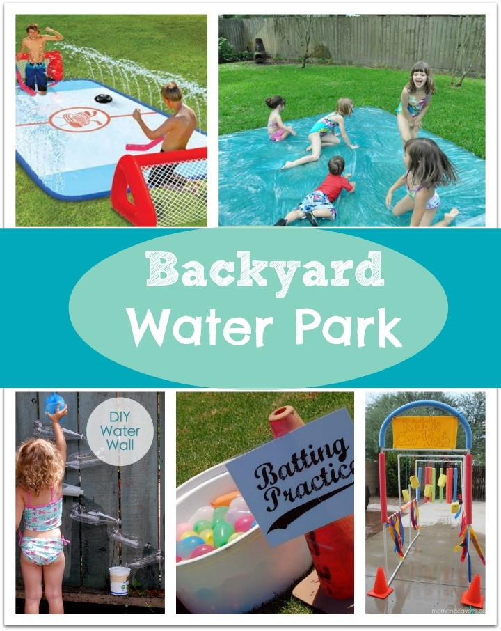 Backyard Water Park Party Ideas  DIY Backyard Water Party s and for
