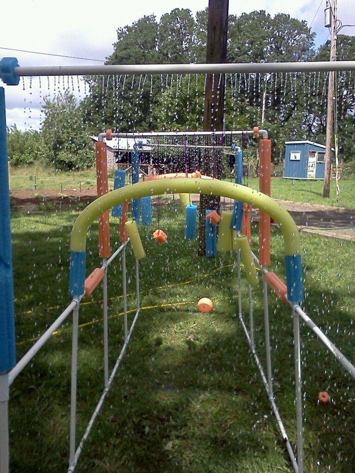 Backyard Water Park Party Ideas  Best 25 Backyard water fun ideas on Pinterest