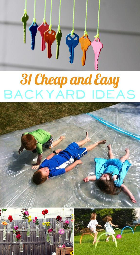 Backyard Water Park Party Ideas  46 best images about Kids backyard water party on