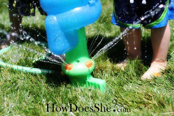 Backyard Water Park Party Ideas  Backyard water parks Water party and Water parks on Pinterest